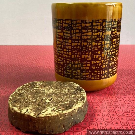 Flour Storage Jar With Cork Lid By Sado International MCM Retro