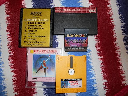Epyx games