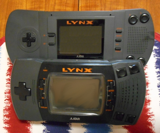 The Atari Lynx is ashamed of your choice of games and other