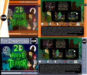 cover 2d house of terror
