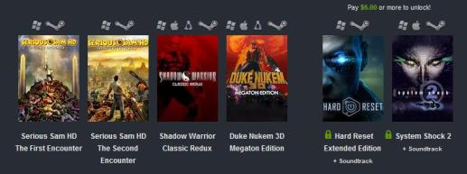 Humble Bundle Retro fps