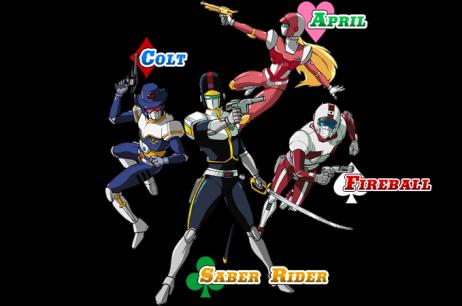 saber rider dreamcast