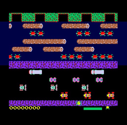 Frogger for Atari ST