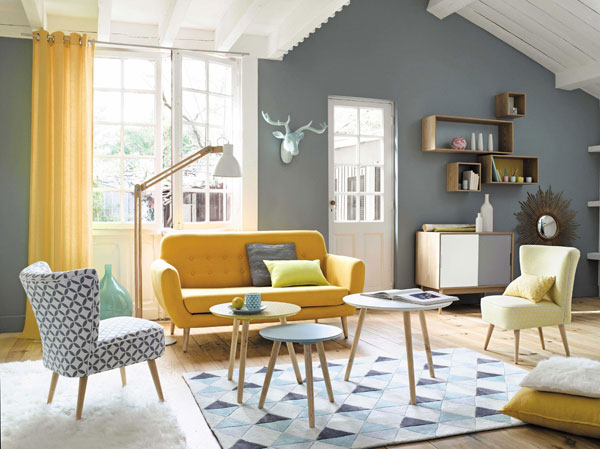Fjord Midcentury Style Coffee Table Set At Maisons Du Monde Retro To Go
