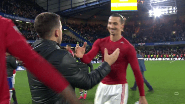 Zlatan Ibrahimovic's show of shame after scathing defeat to Chelsea
