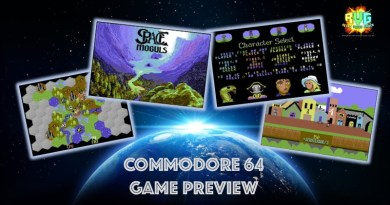 Space Moguls – Preview of Upcoming New Commodore 64 Game.