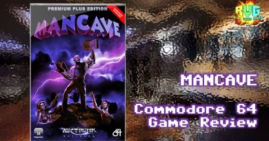 Mancave – C64 Game Review.