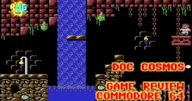 Doc Cosmos – C64 Game Review