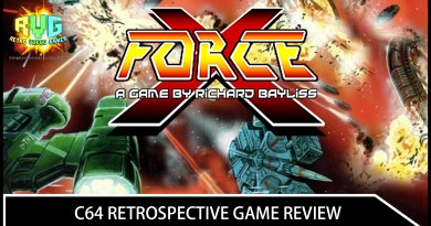 X-Force – C64 Retrospective Game Review.