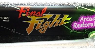 RVG Feature: Capcom Final Fight Arcade Cabinet Restoration
