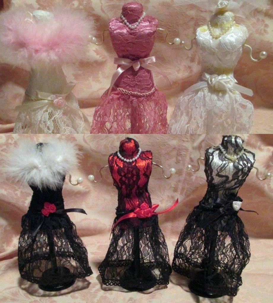6 pieces Delightful Vintage Mannequin Dress Forms – RetroVogue.com