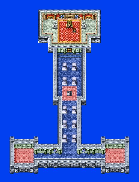 Castle Cornelia 2F Final Fantasy I Walkthrough