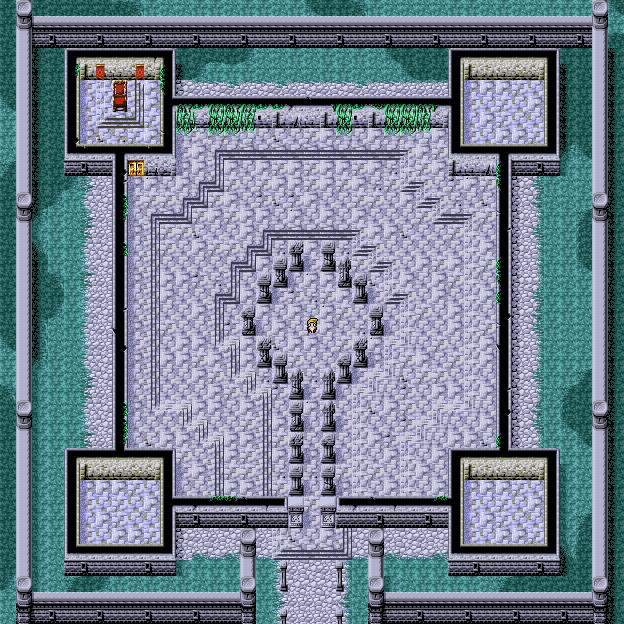 Citadel Of Trials 1F Final Fantasy I Walkthrough