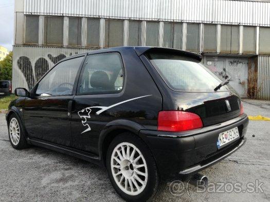 Treba kúpiť !  Peugeot 106  S16 1.6  16v