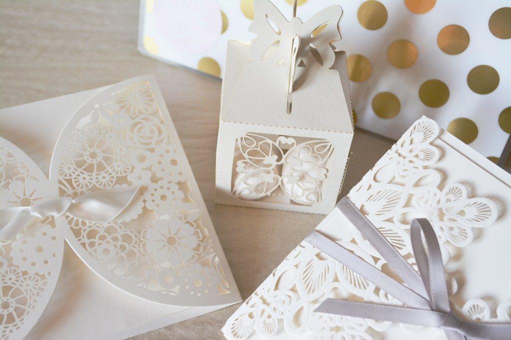 Invitaciones boda vintage hechas a mano