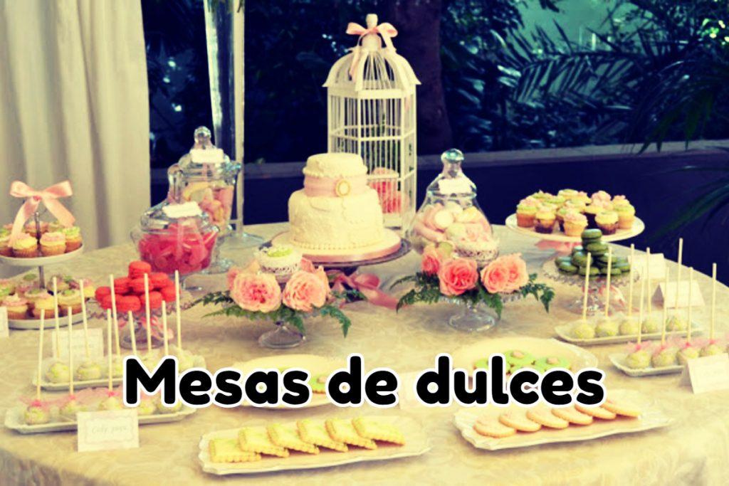 Mesa Dulces Vintage
