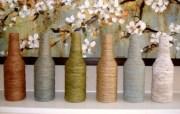 Cómo hacer botellas decoradas con cuerda fácil en unos minutos