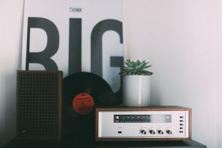 Decoración con radios vintage