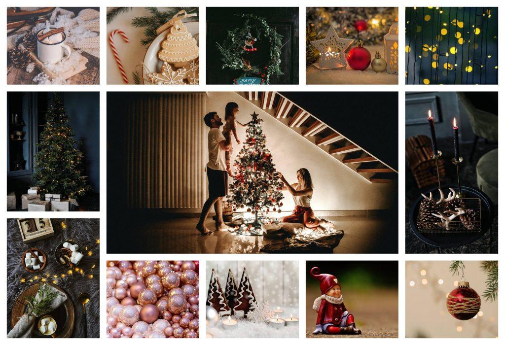 Ideas decoración vintage para navidad