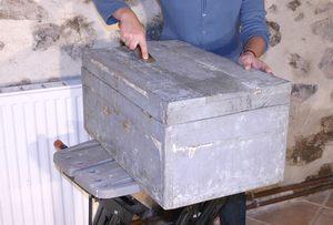 Resaurar baúl antiguo - Paso 2