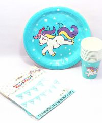 unicorn party supplies party pack