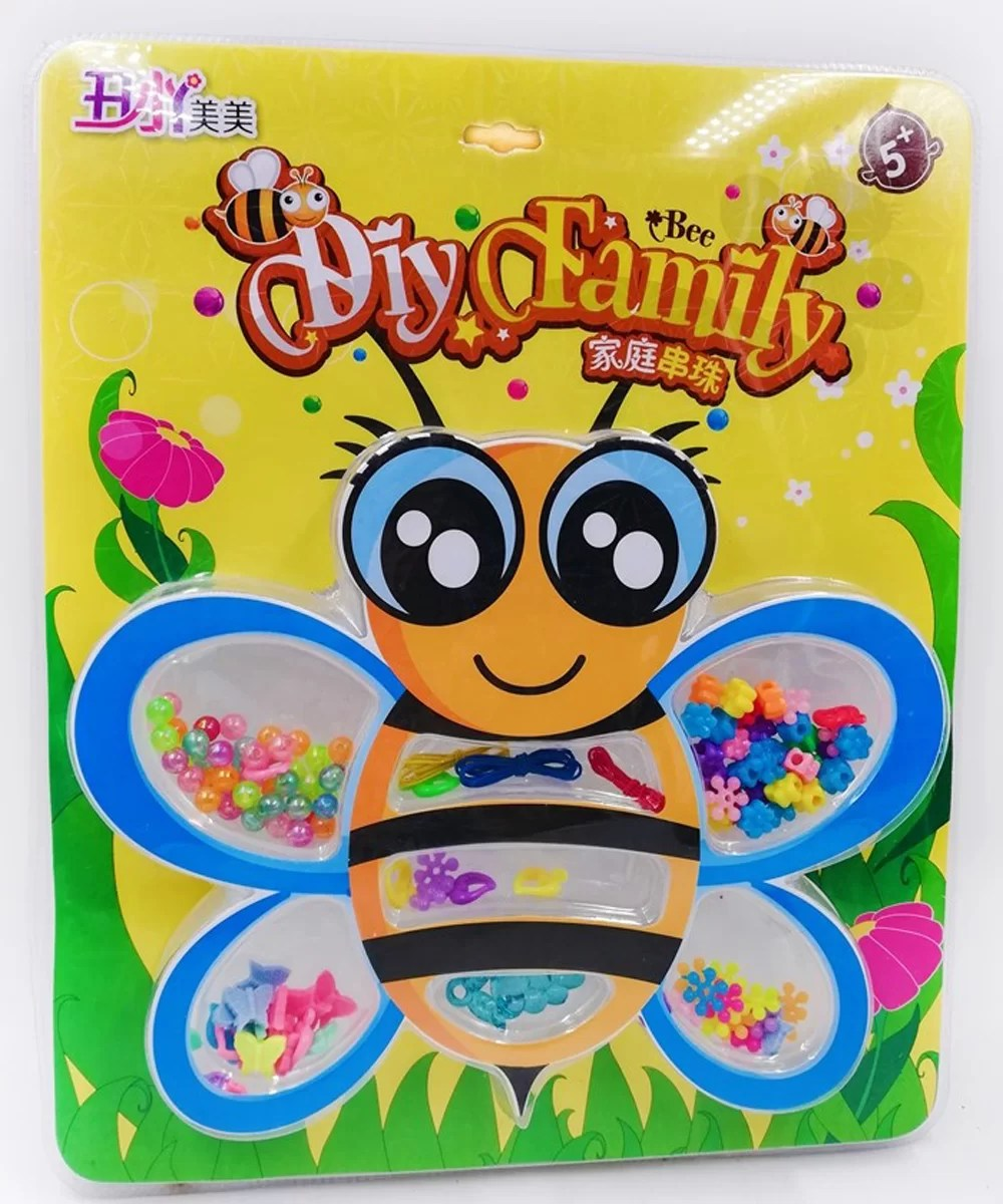 bumble bee gifts beads set to make bracelets