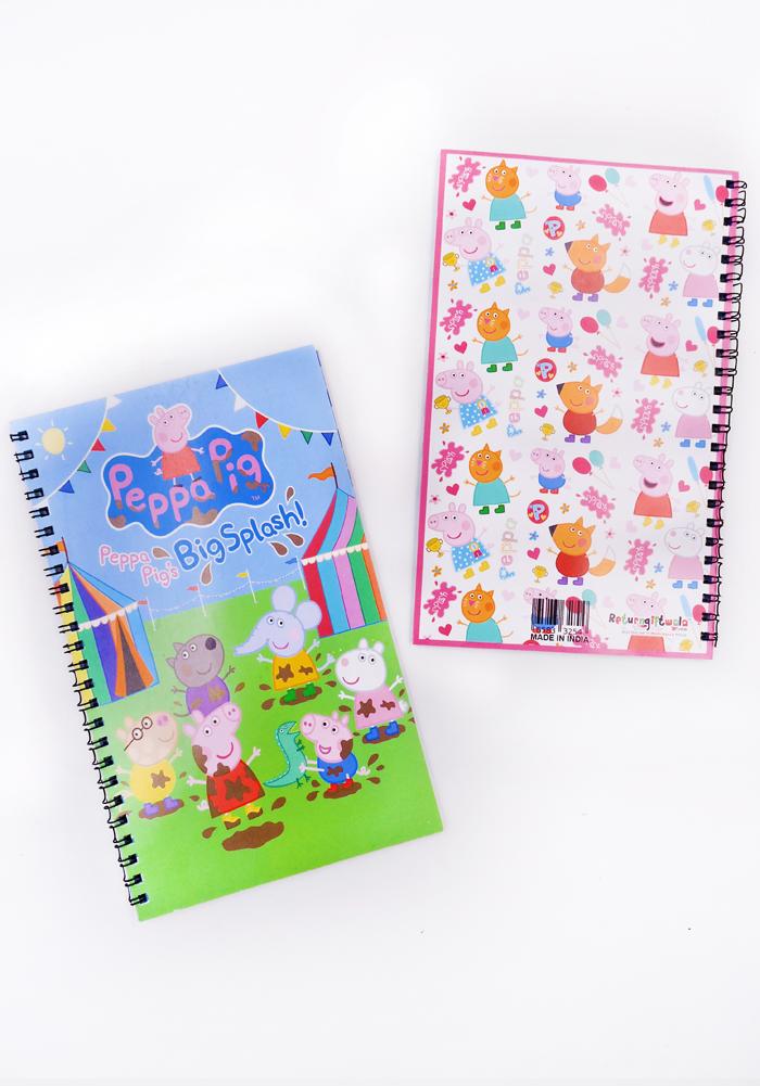 peppa pig theme diary