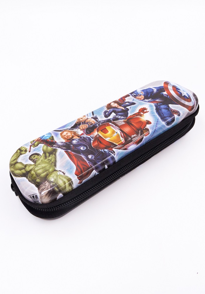 Metal pencil box avengers theme return gifts for birthday party