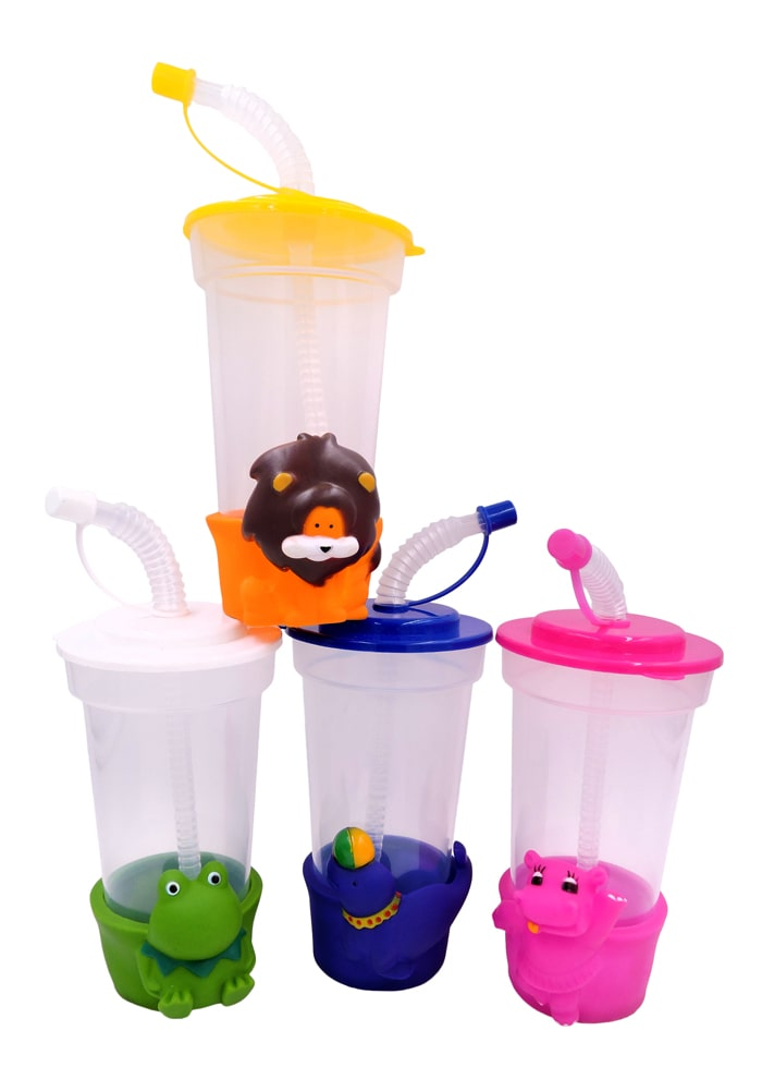 cute sipper bottles for animal theme return gifts