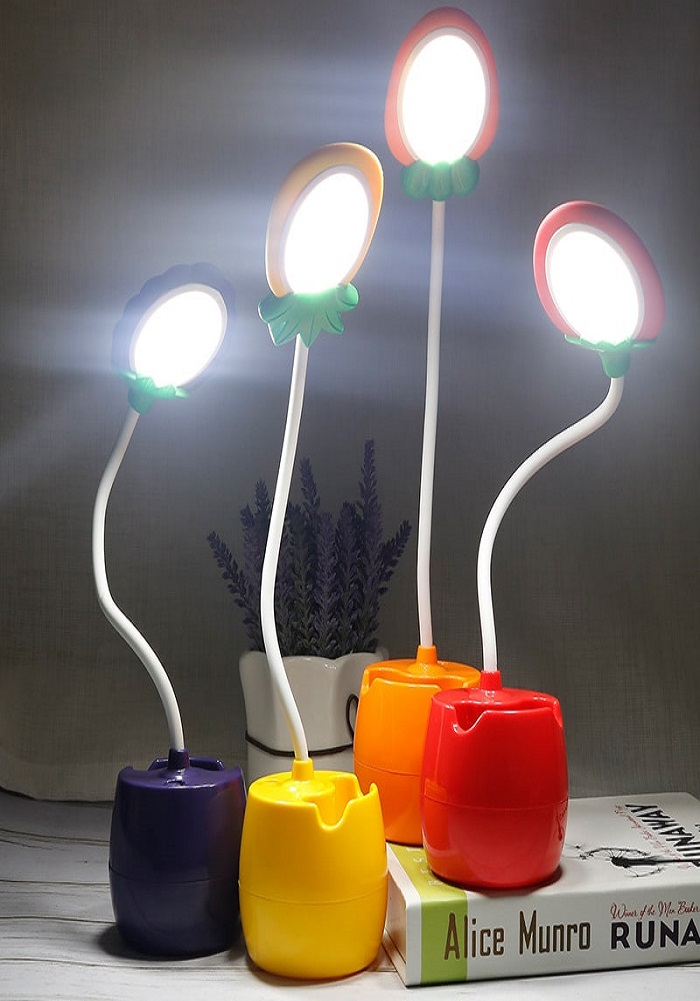 fancy and cute fruits theme study lamp