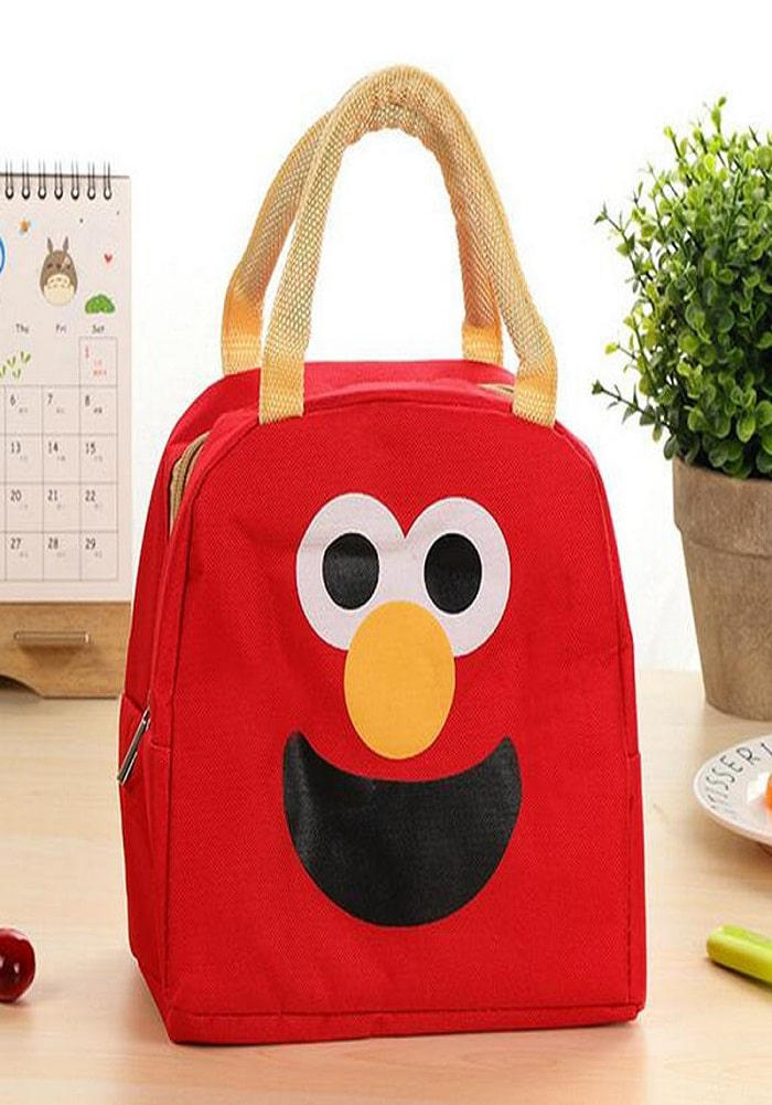 red monster Funny lunch bags for children return gifts