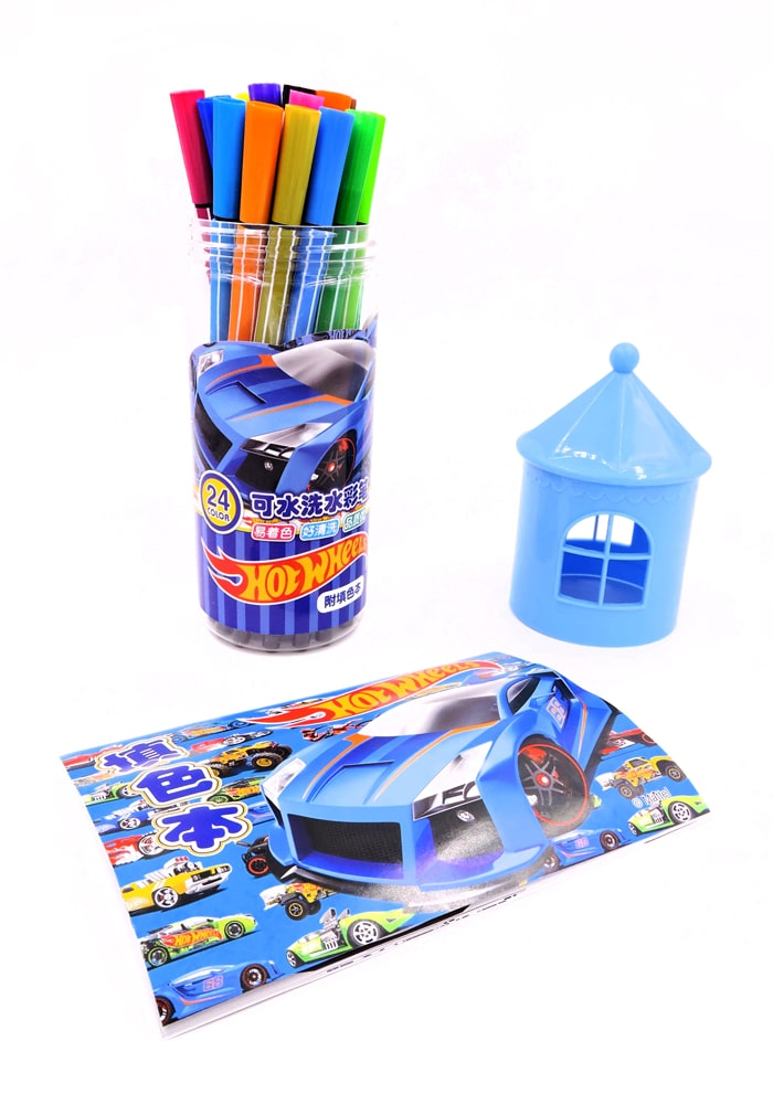 hot wheels gifts for boys sketch pens