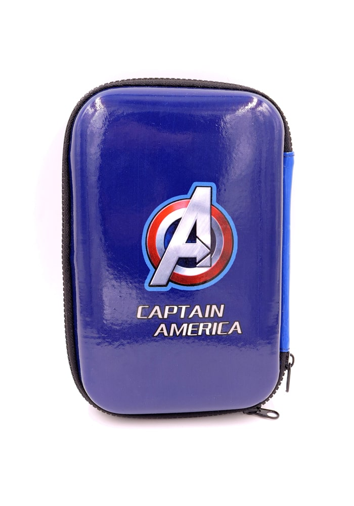 captain america big size stationery organizer for boys1