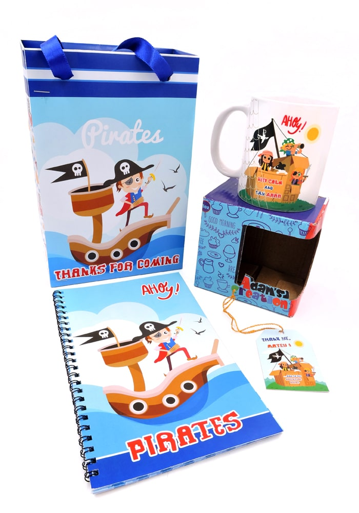 return gifts for pirates theme party combo
