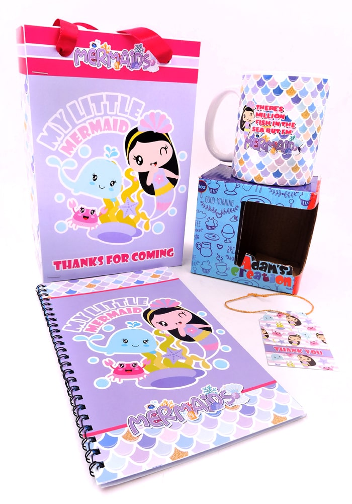 combo-return gifts for mermaid theme party