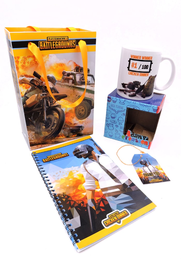 pubg theme return gifts for party