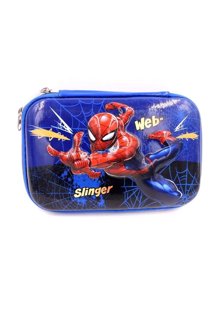 spiderman blue stationery box big