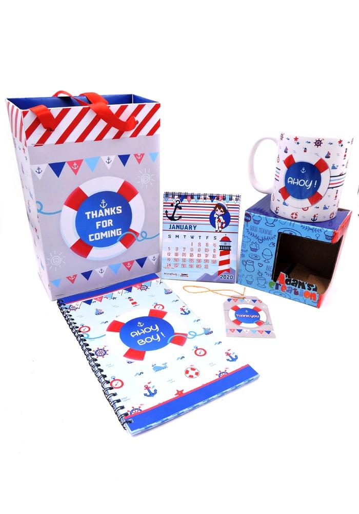 nautical theme big size birthday combo return gifts