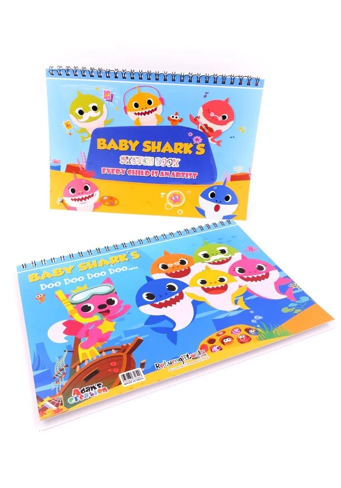 baby shark theme birthday favors