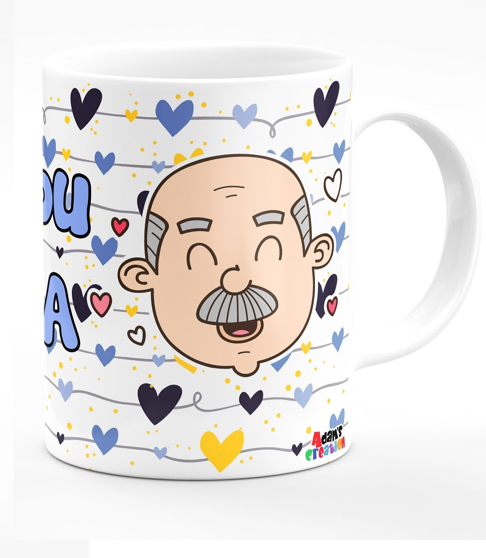 coffee mug for grand dad - nana grandfather-min