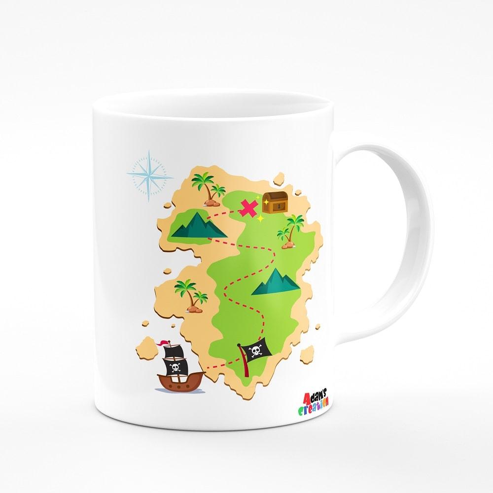 pirates theme mug bone china coffee mug