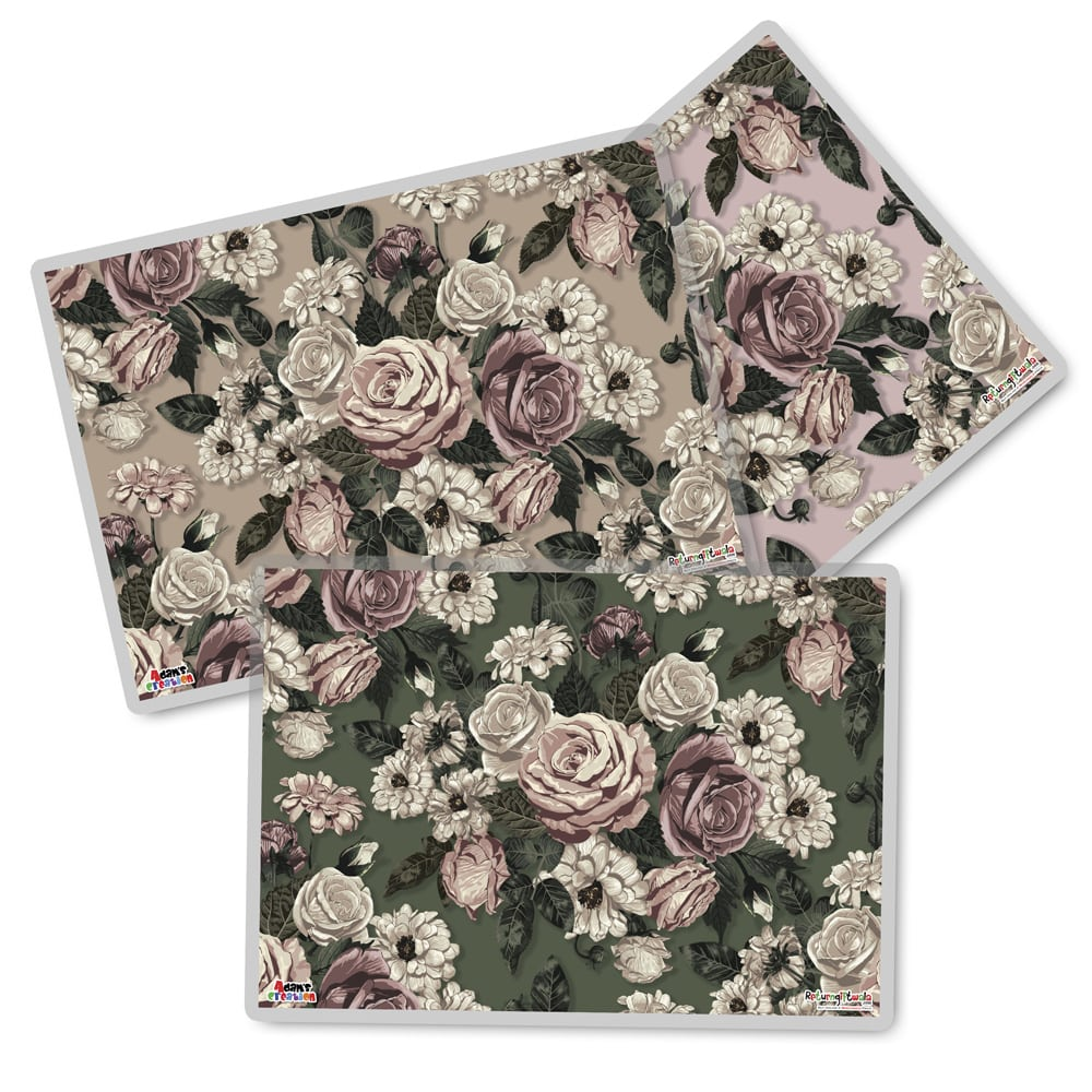 set of 3 rose mats-min