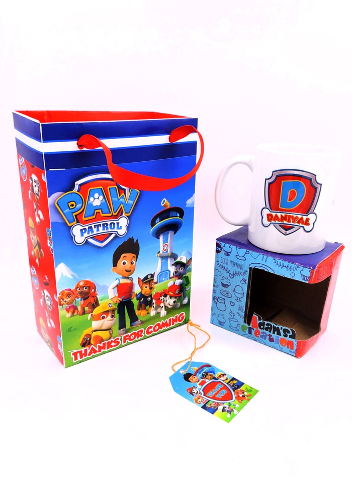 Paw patrol theme return gifts