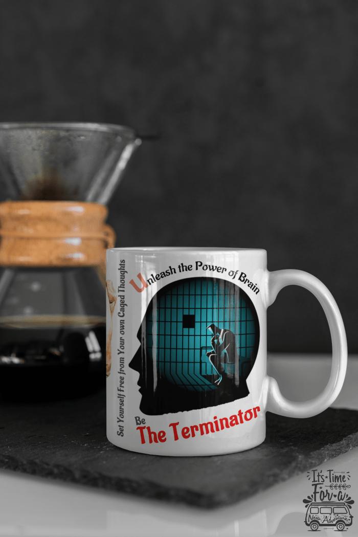 unleash the power terminator mugs for creative men