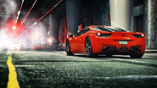 ferrari-458-italia-street-photo-hd-wallpaper