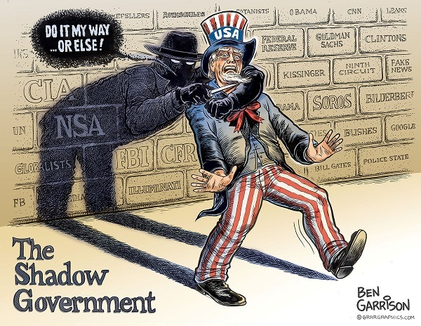 Image result for trump deep state