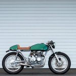 Green Goblin Purpose Built Moto Cb400f Return Of The Cafe Racers