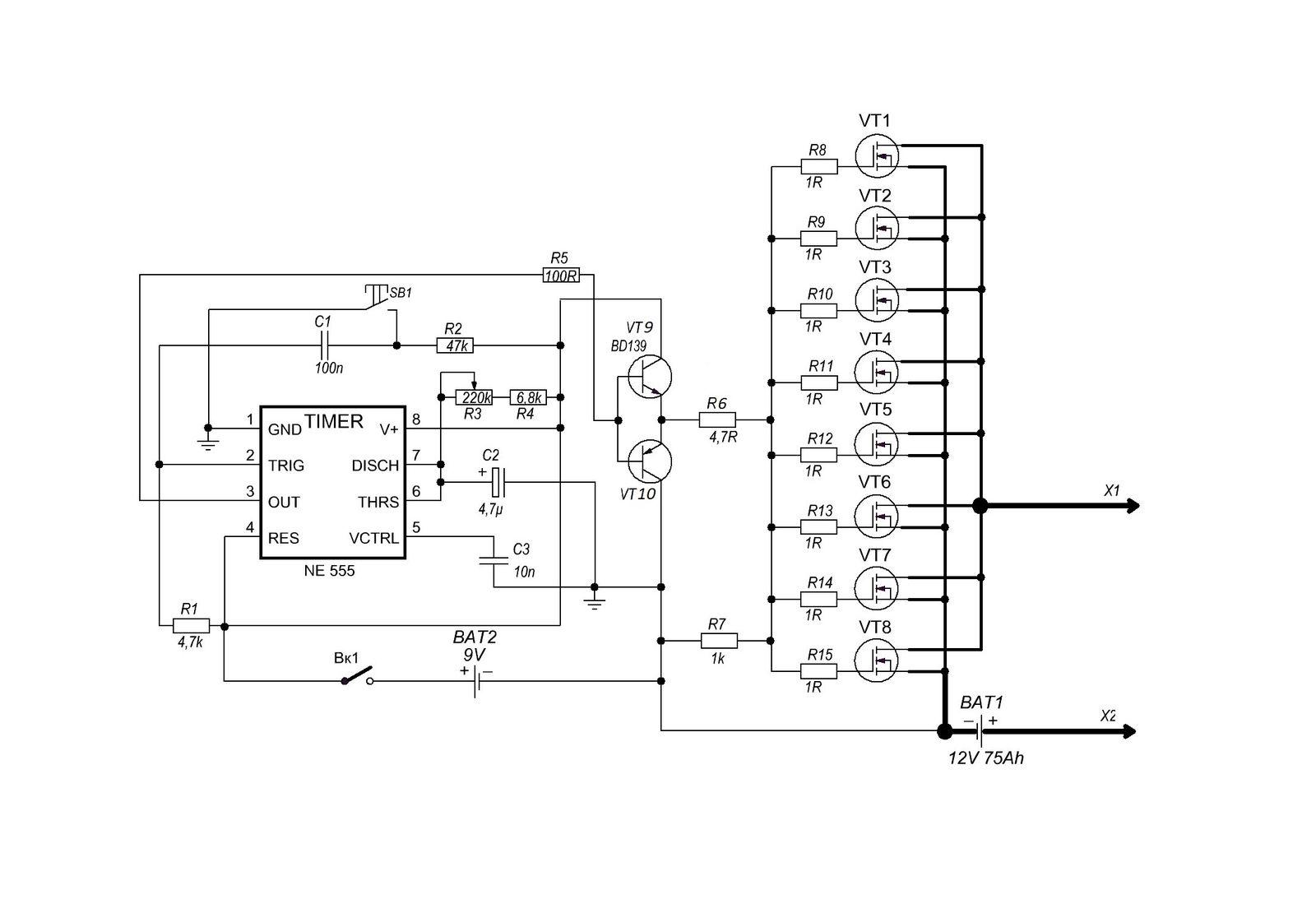 Wiring Diagram Volt Amp Meter 40w Co2 Laser