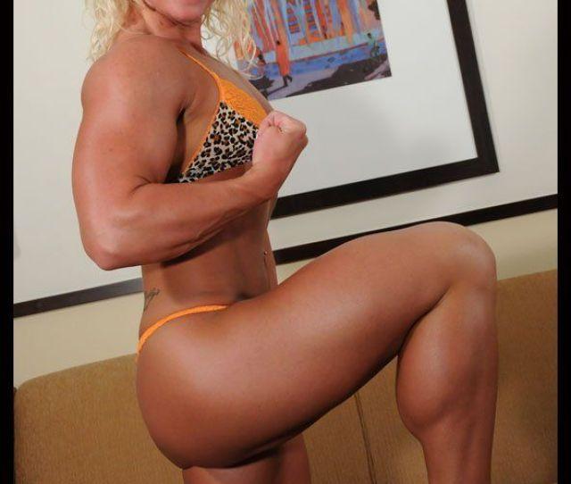 Muscular Womens Legs Nude