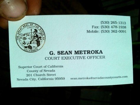 G Sean Metroka officer